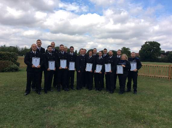 Heroic police officers have receive commendations for saving the lives of people in Essex