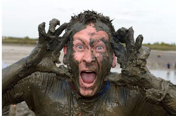 Picture Special: Maldon mud race