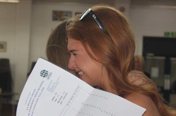 Tauheedul Islam Girls' High School pupils celebrate 'exceptional GCSE results'