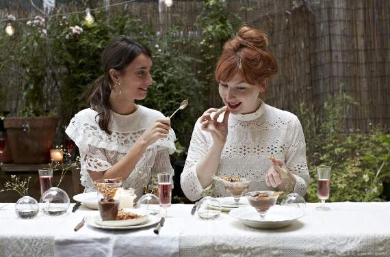 Radio and television presenters, Alice Levine and Laura Jackson, share summer garden party recipes from their new book