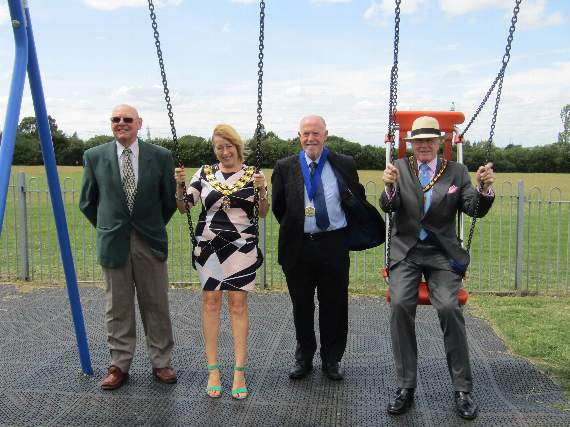 New play equipment installed at parks in Rayleigh